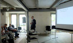 Alexander Horn bei seinem Vortrag zum Thema Profiler in Wolfenbüttel 2016
